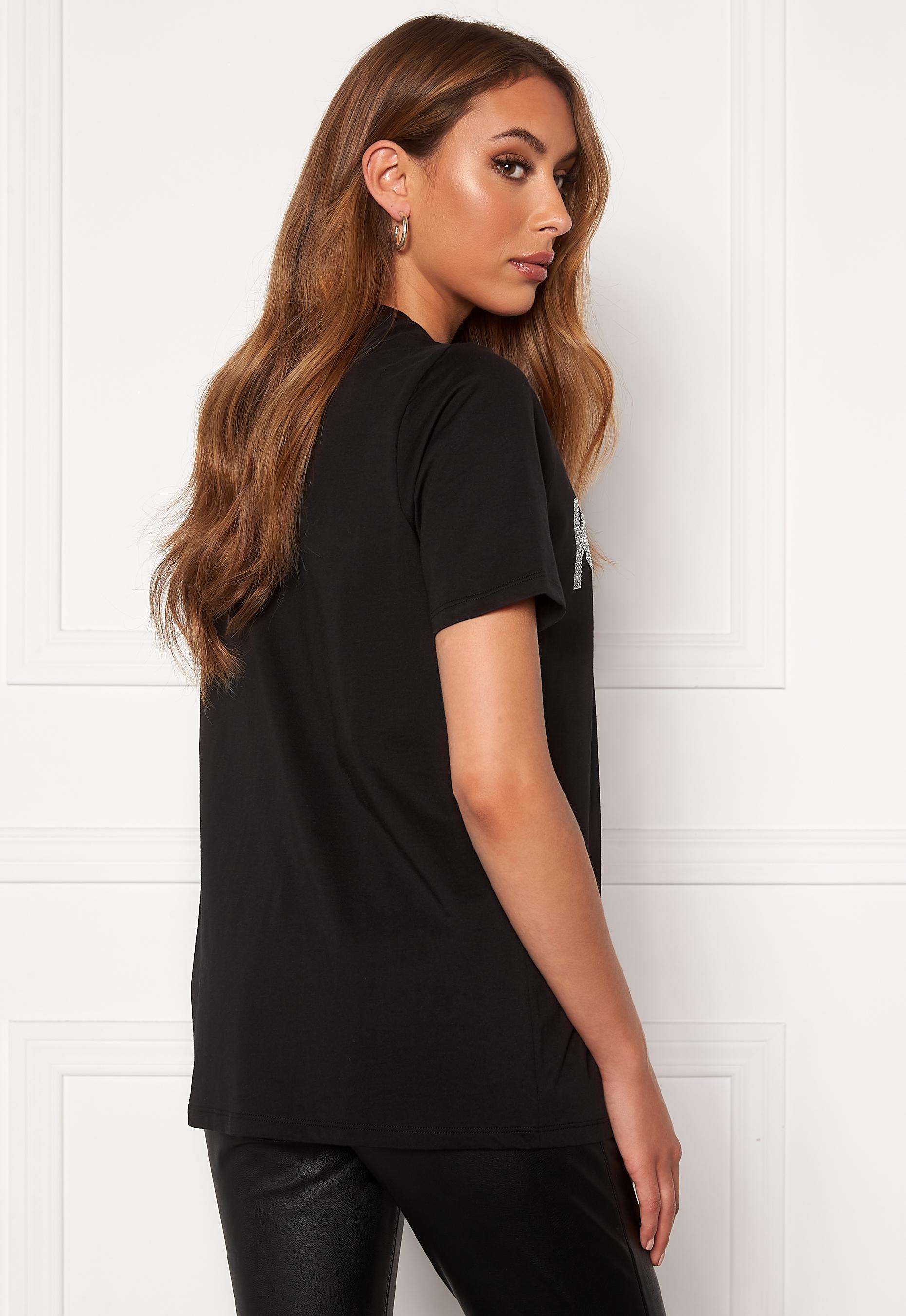 Michael Michael Kors Kors Graphic T Shirt 099 BlackSilver