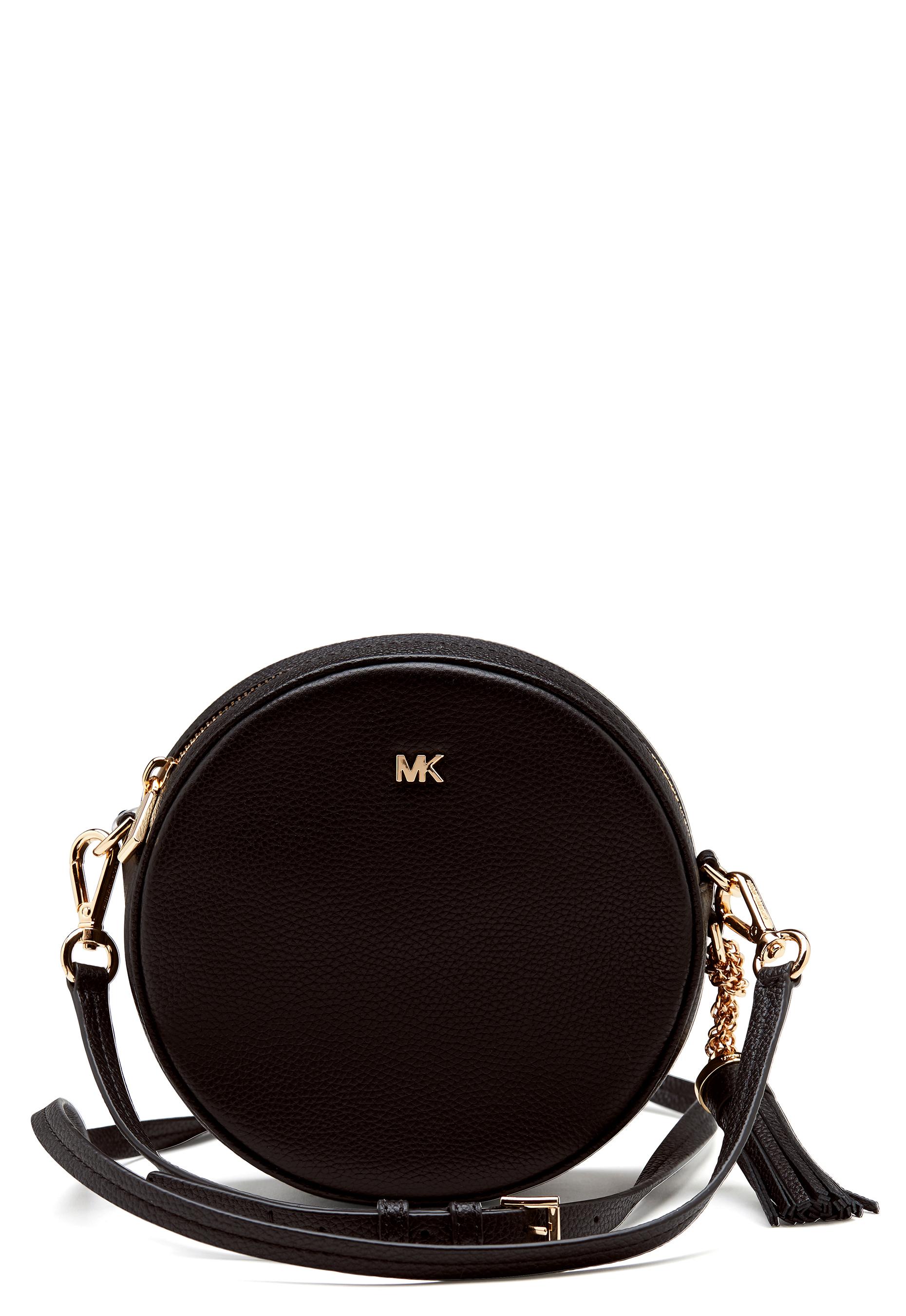 Michael Michael Kors Round Crossbody Black Bubbleroom