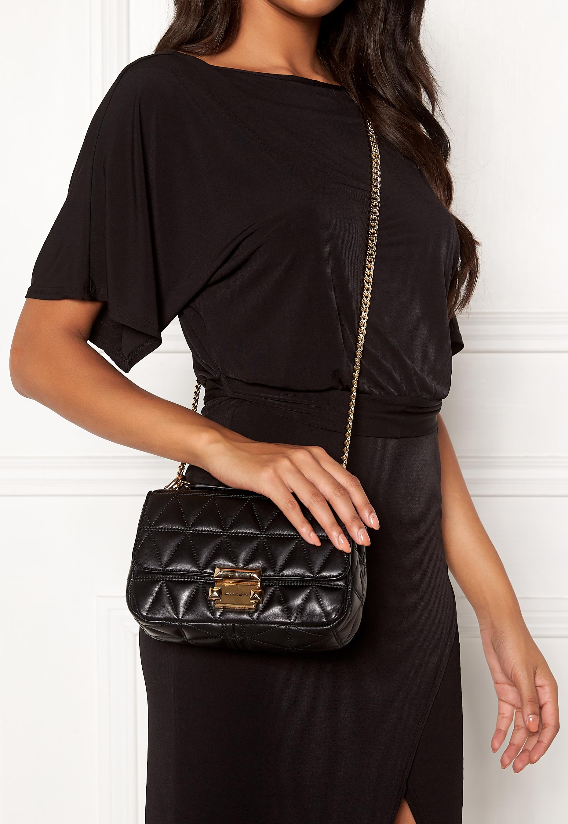 Michael Michael Kors Small Sloan Chain Bag Black Bubbleroom
