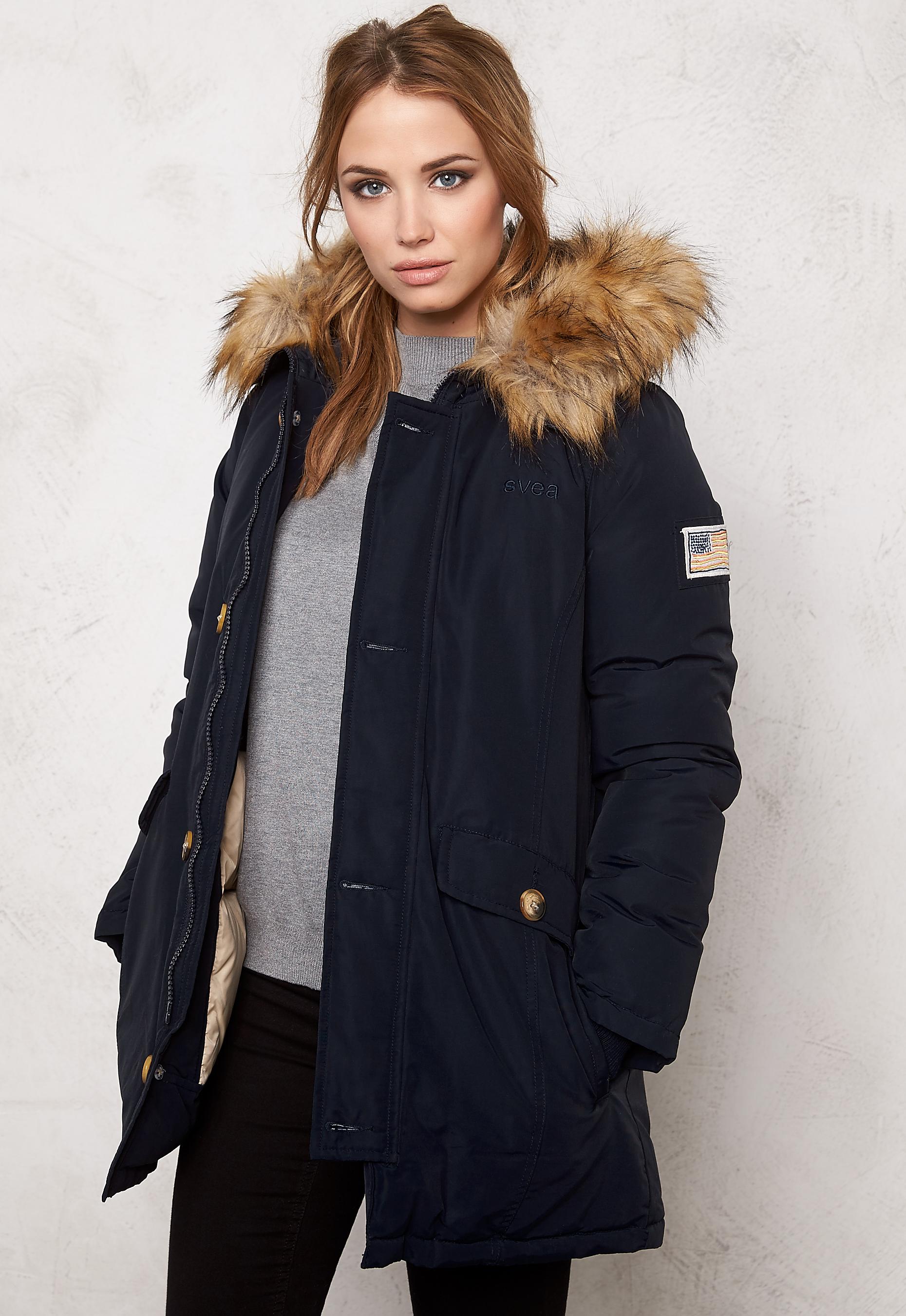Svea Miss Smith Jacket Navy | GetInspired.no