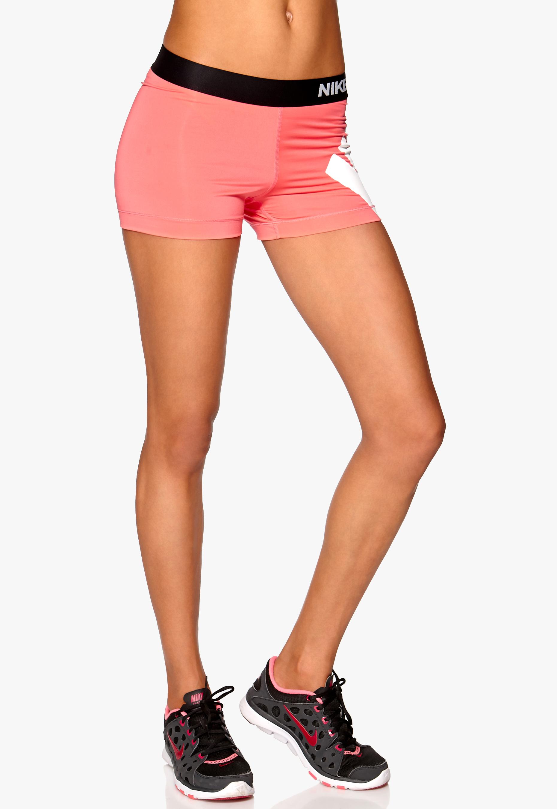 81433a8f Nike Pro Logo Shorts 654 Apricot - Bubbleroom
