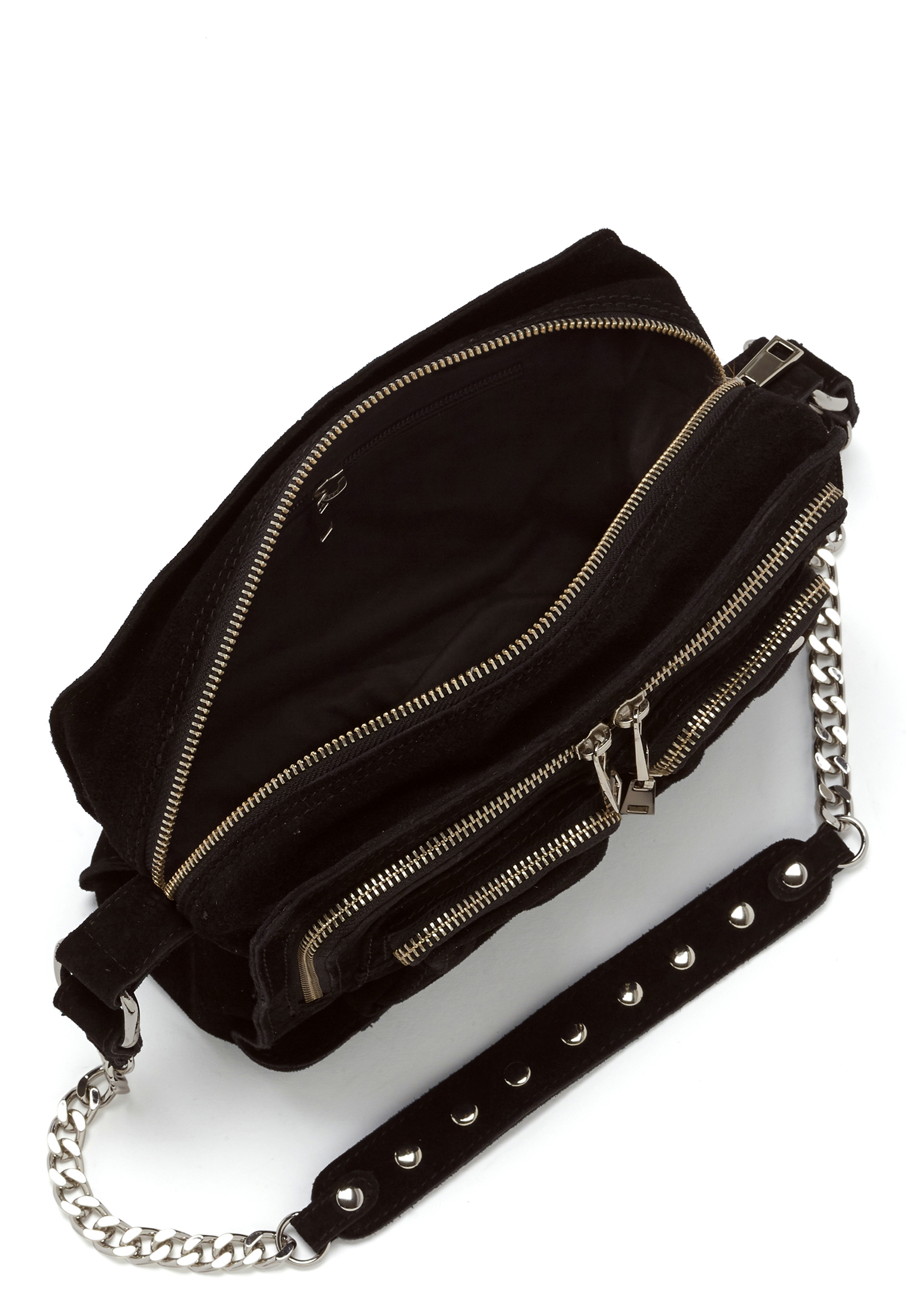 Nunoo Ellie New Suede Bag Black Bubbleroom
