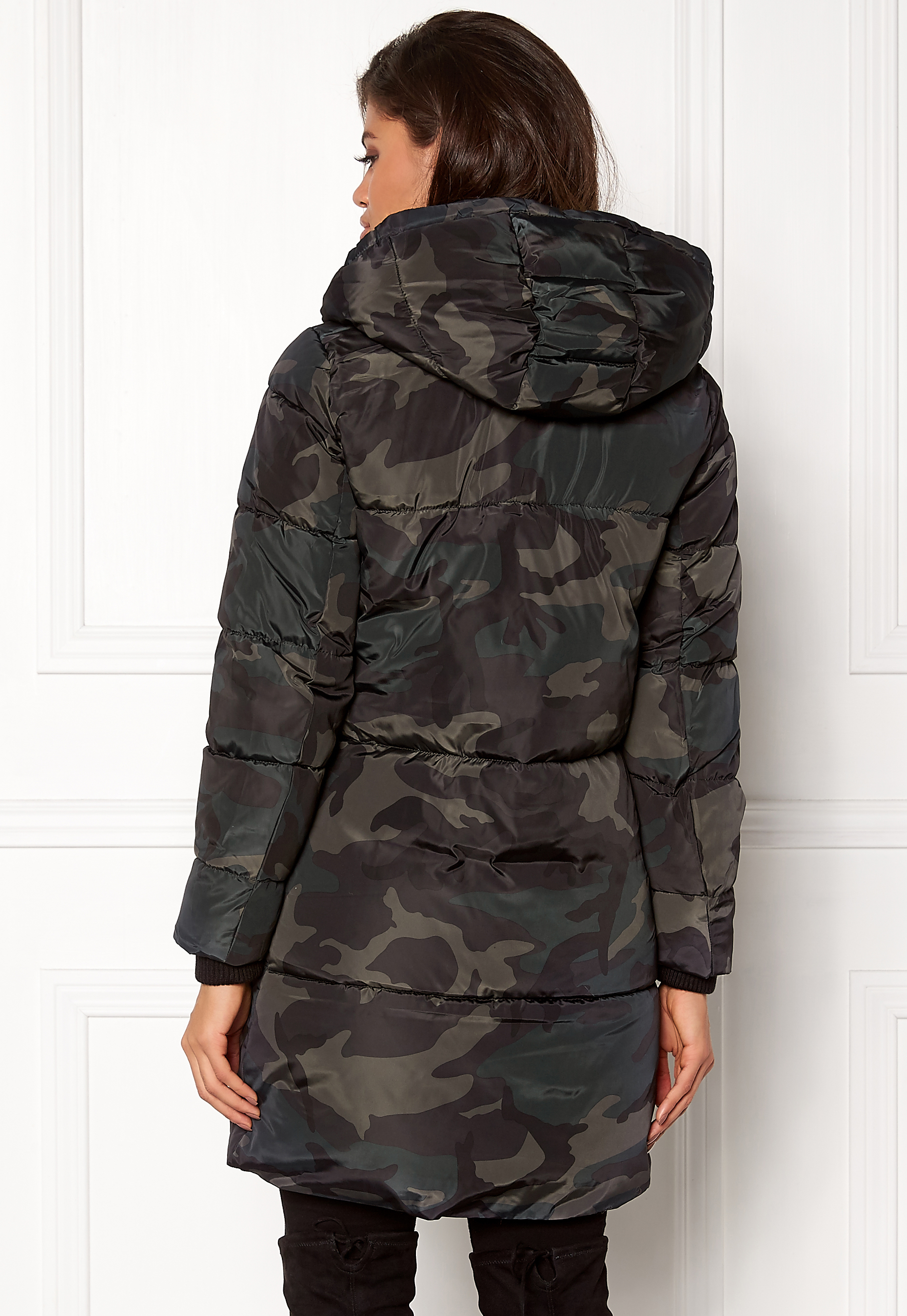 camouflage jakke dame only