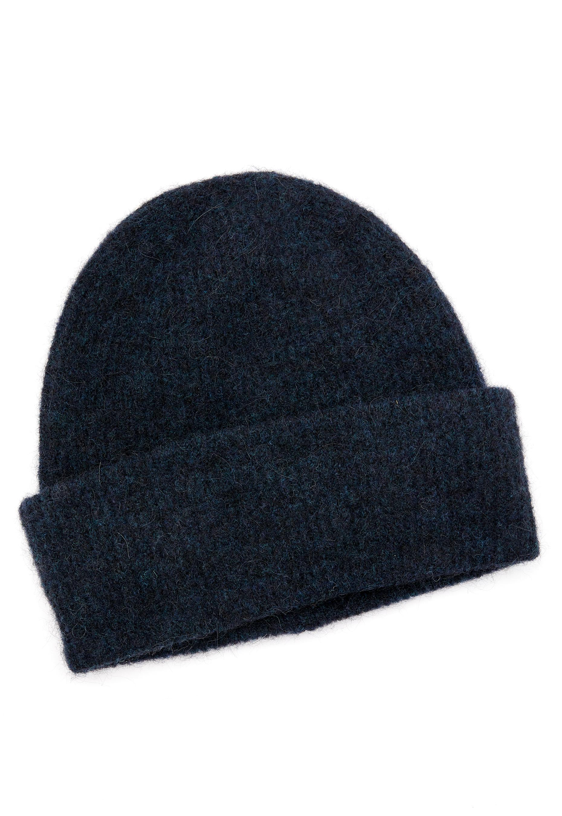 ca06b551 Samsøe & Samsøe Nor Hat Dark Blue Melange - Bubbleroom