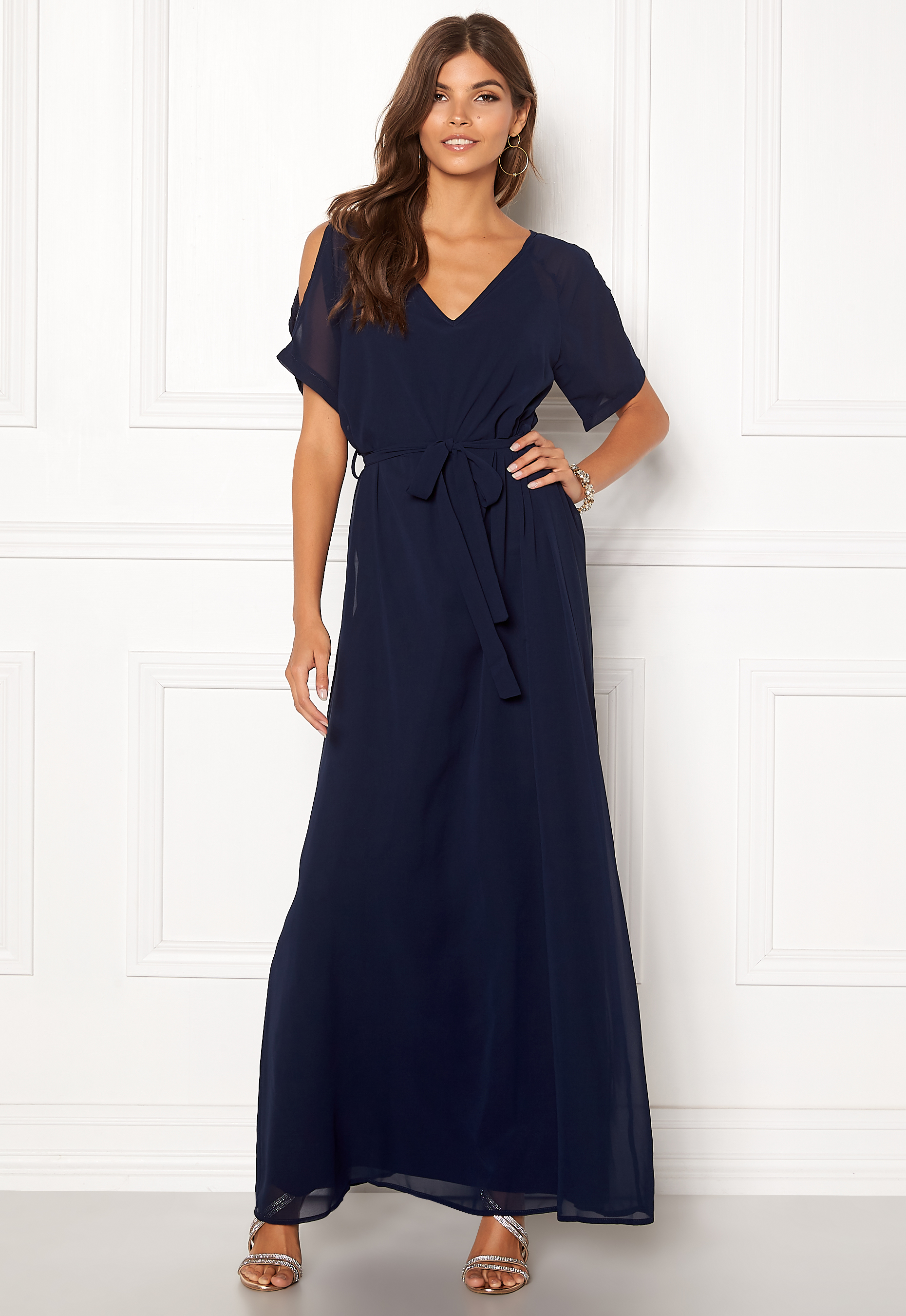 916e4e99 Sisters Point Narva Dress 440 Navy - Bubbleroom