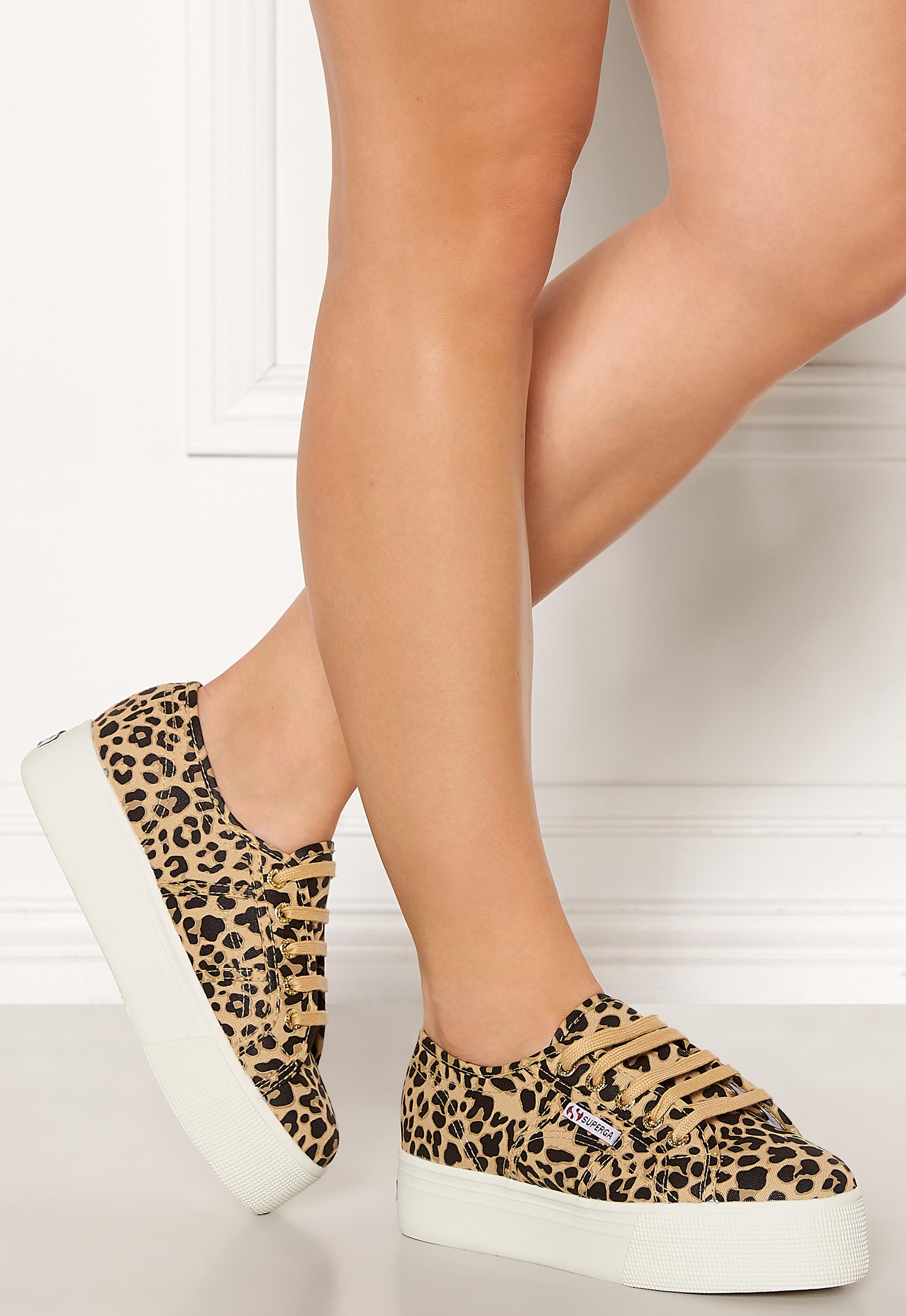 Superga FANCOTW Classic Sneakers Leopard Bubbleroom
