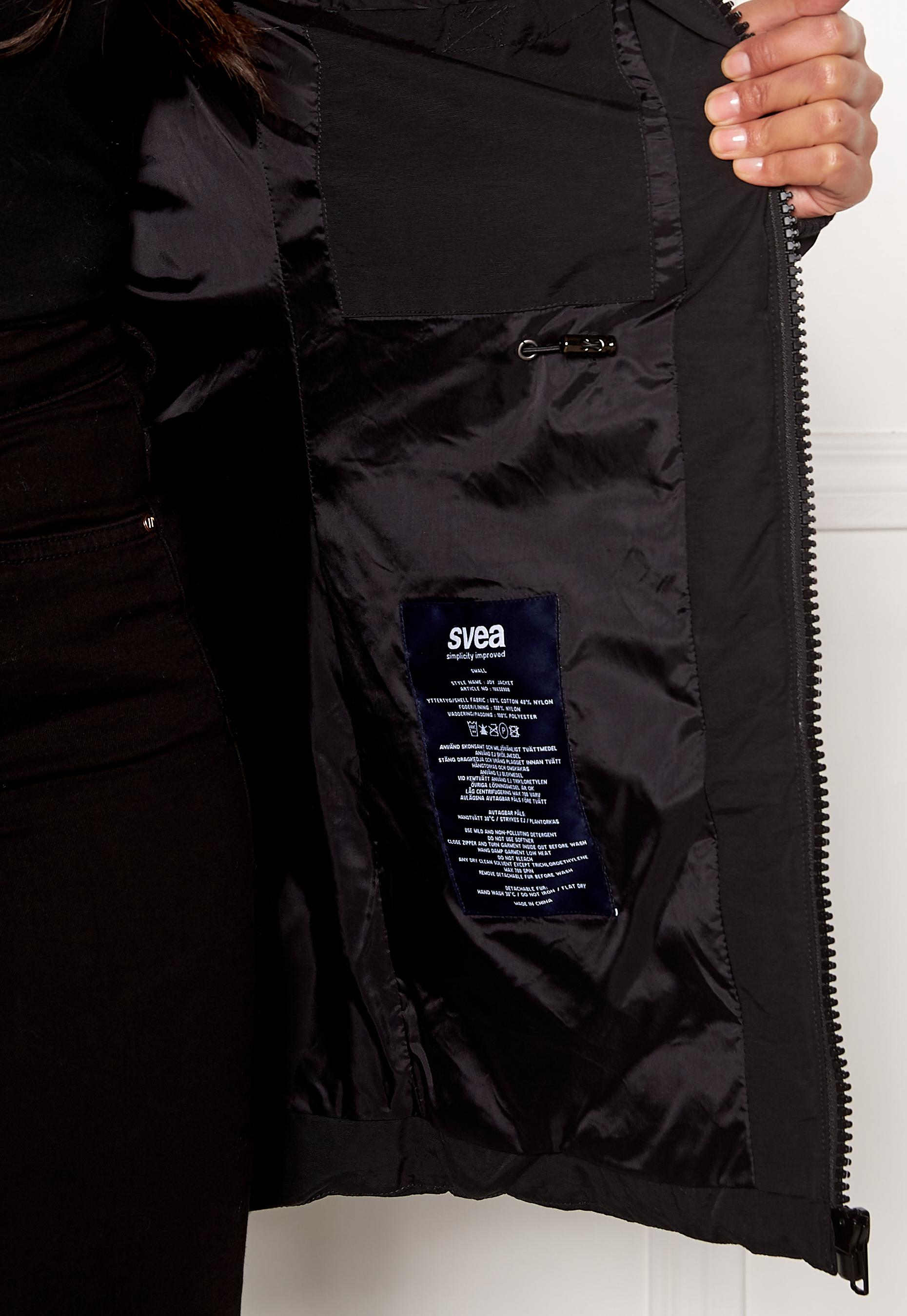Svea Joy Jacket 900 Black Bubbleroom
