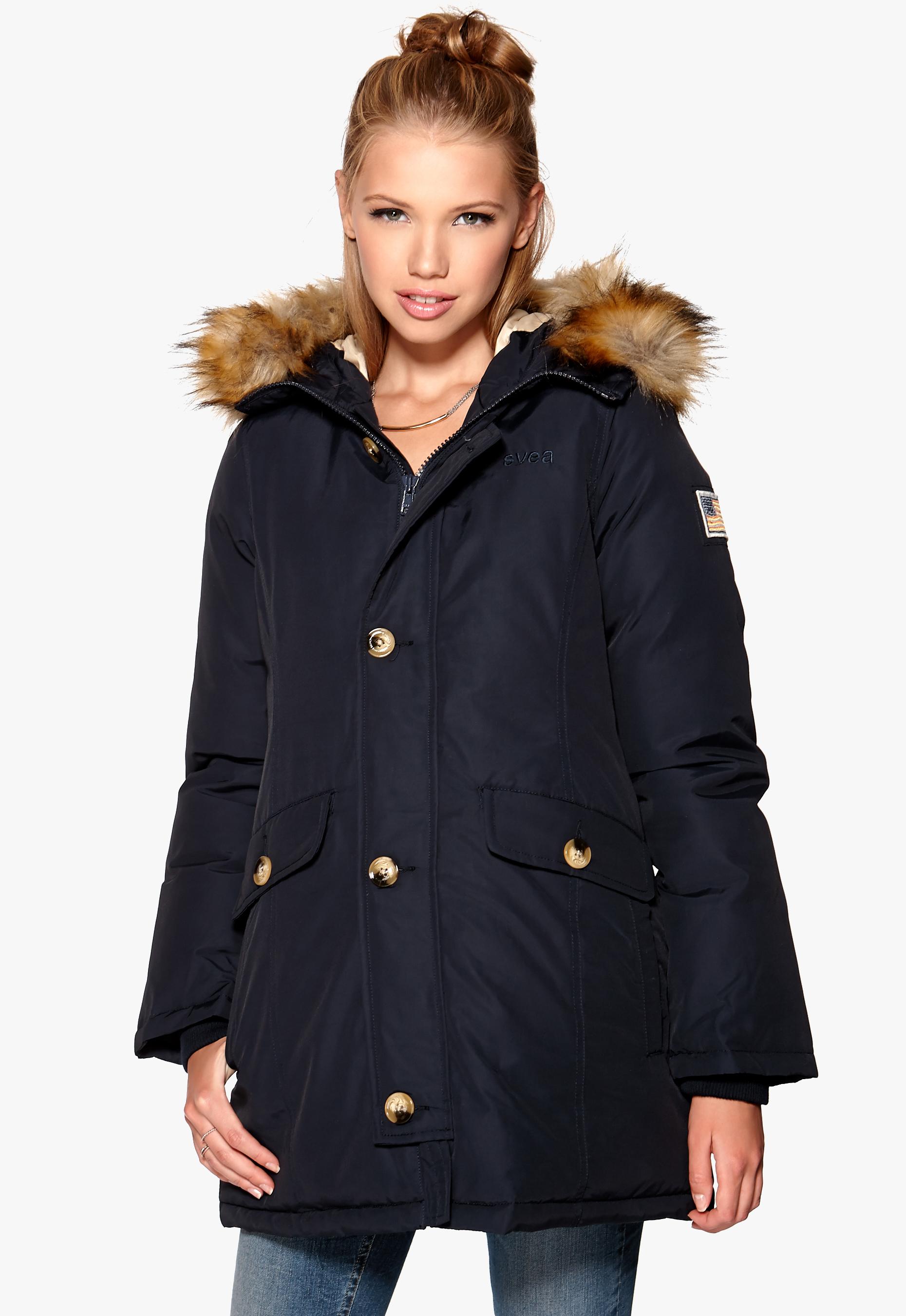 15331120 Svea Miss Smith Jacket Navy - Bubbleroom