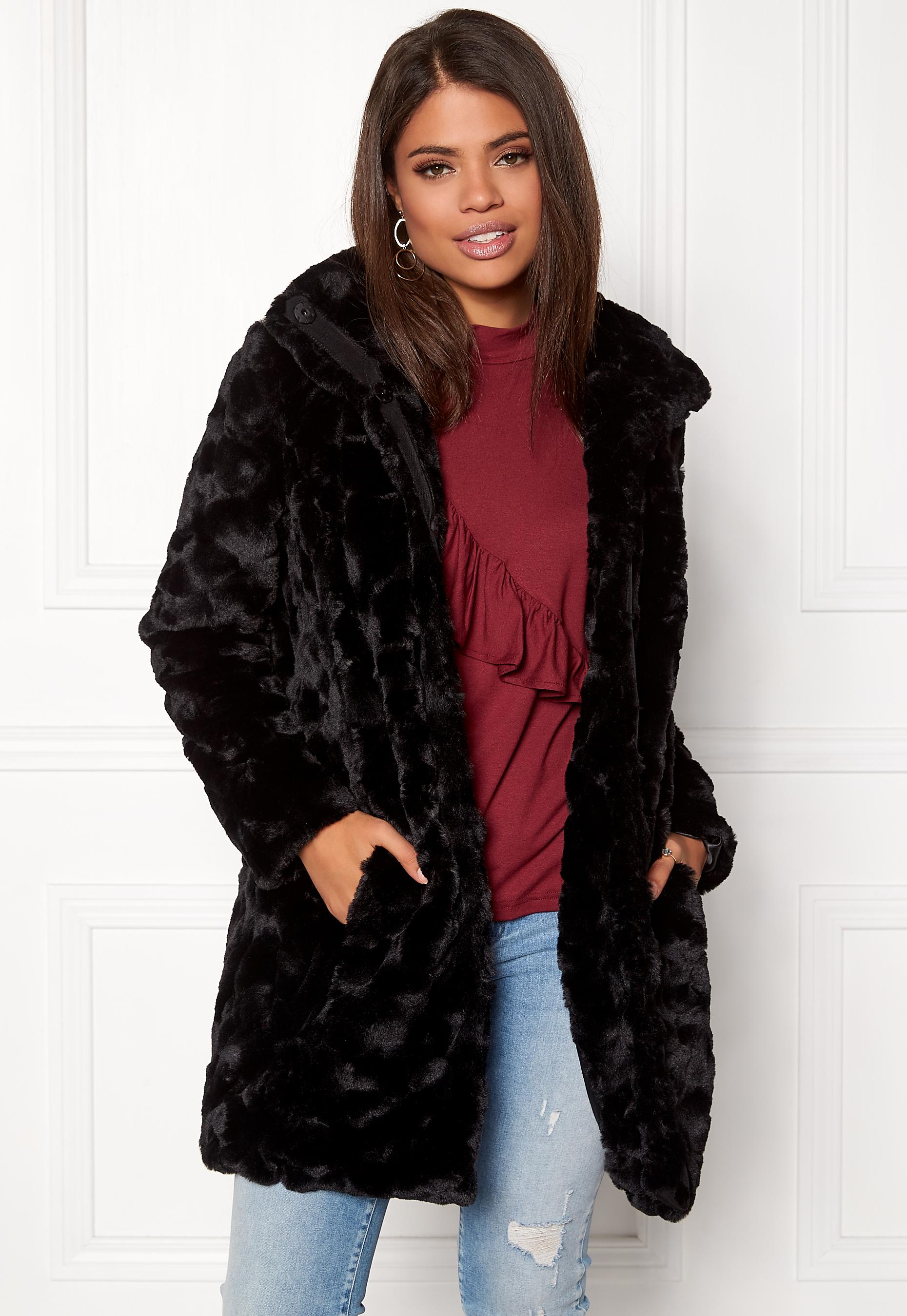 2eee92b9 VILA Viseria Coat Black - Bubbleroom